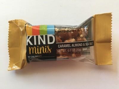 Snack / Bar / Kind Minis Caramel Almond Sea Salt Single