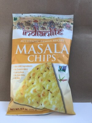 Chips / Big Bag / Indian Life Masala Chips, 6 oz.