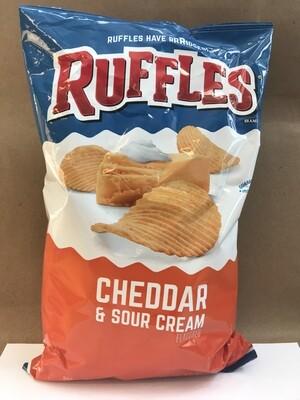 Chips / Big Bag / Ruffles Cheddar/Sour Cream 8.5 oz
