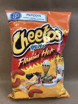 Chips / Small Bag / Cheetos Flamin  Puffs 3.5 oz