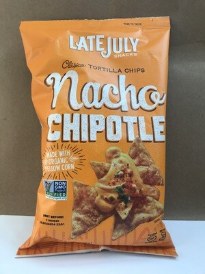 Chips / Big Bag / Late July Nacho Chipotle Chips, 5.5 oz