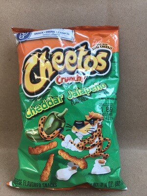 Chips / Small Bag / Cheetos Crunchy Cheddar Jalapeno 3.5oz