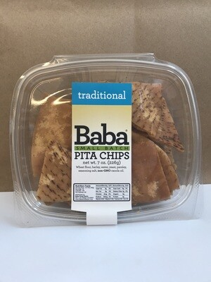 Grocery / Crackers / Baba Plain Pita Chips