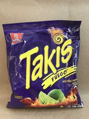 Chips / Small Bag / Takis Fuego, 4 oz.