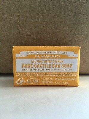 Health and Beauty / Soap / Dr. Bronner Bar, Citrus