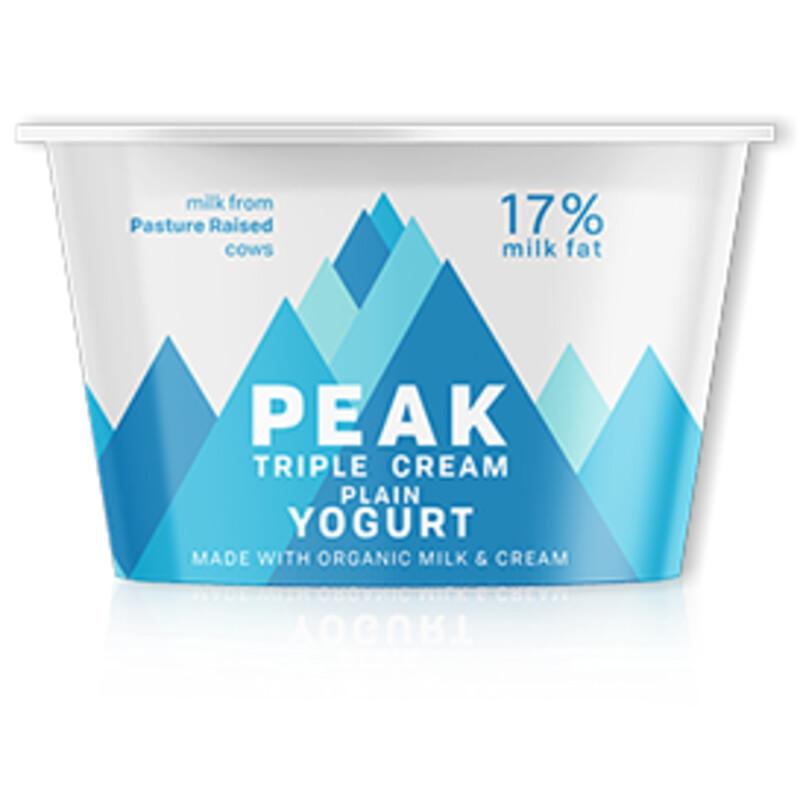 Dairy / Yogurt / Peak Keto Plain Yogurt, 4 oz.