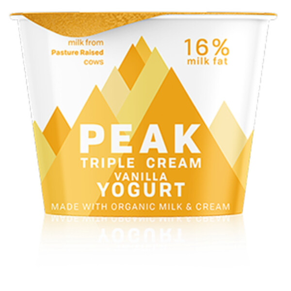 Dairy / Yogurt / Peak Keto Vanilla Yogurt, 4 oz