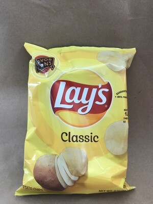 Chips / Small Bag / Lay's Classic 3 oz