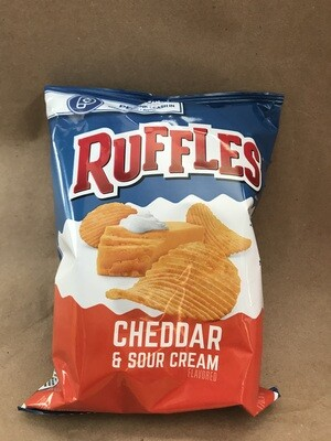 Chips / Small Bag / Ruffles Cheddar/Sour Cream 2.5 oz
