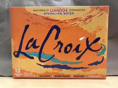 Beverage / Water / La Croix  Orange, 12pk