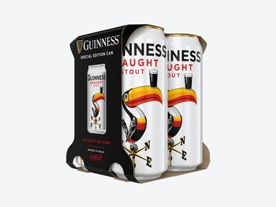 Beer / 4 Pack / Guinness Draft Cans 4pk