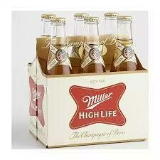 Beer / 6 Pack / Miller High Life 6pk Bottles