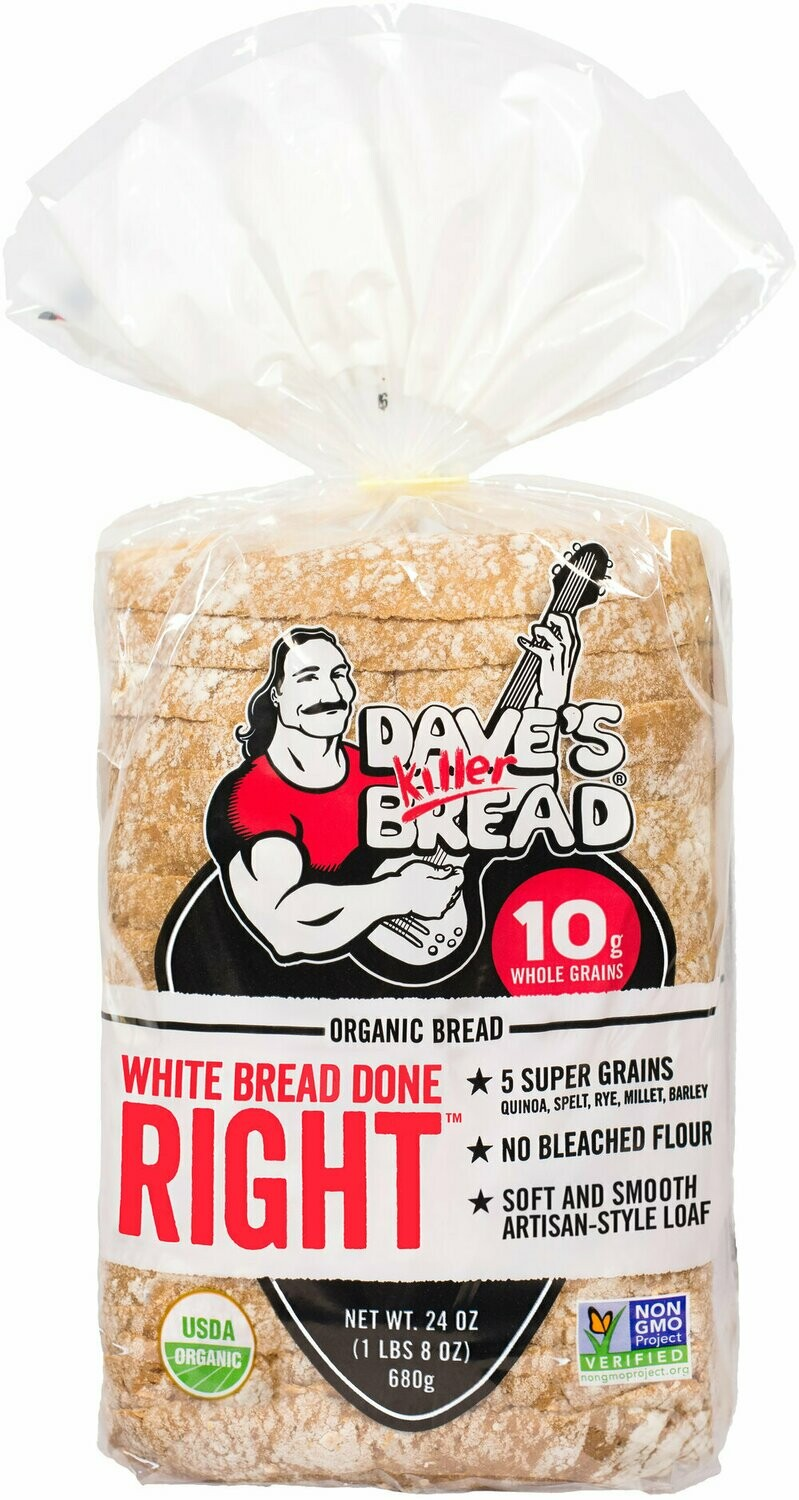 Bread / Sliced / Dave's White Bread Done Right