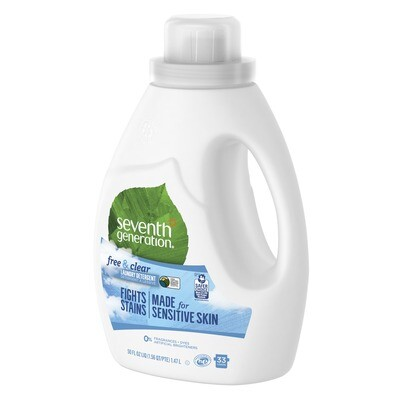 Household / Laundry / 7th Generation Laundry Free/Clear 50 Fl oz.