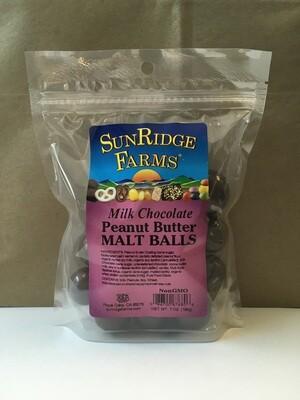 Bulk / Candy / Milk Chocolate Peanut Butter Malt Balls, 7 oz