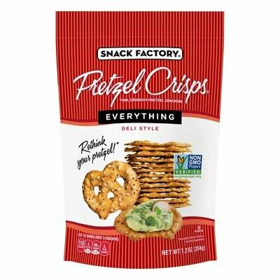 Snack / Snack / Pretzel Crisps, Everything