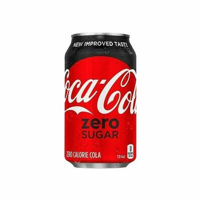 Beverage / Soda / Coke Zero 12 oz