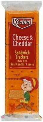 Snack / Crackers / Keebler Cheese N Cheddar Crackers