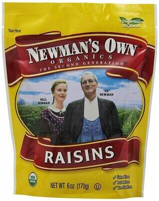 Snack / Dried fruit / Newman's Own Raisins.