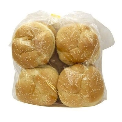 Bread / Buns / Athens Sesame Seed Hamburger Buns, 8ct