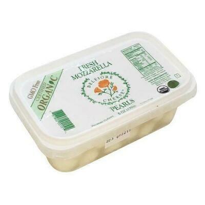 Deli / Cheese / Belfiore Organic Fresh Mozzarella Pearls, 6 oz