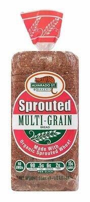 Bread / Sliced / Alvarado Sprouted Multi-Grain.