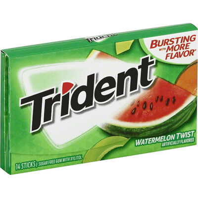 Candy / Gum / Trident Watermelon Twist