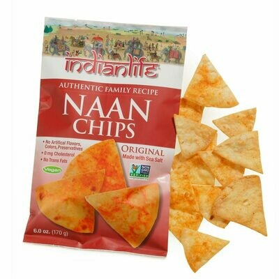 Chips / general / Indian Life Naan Chips, 6 oz.