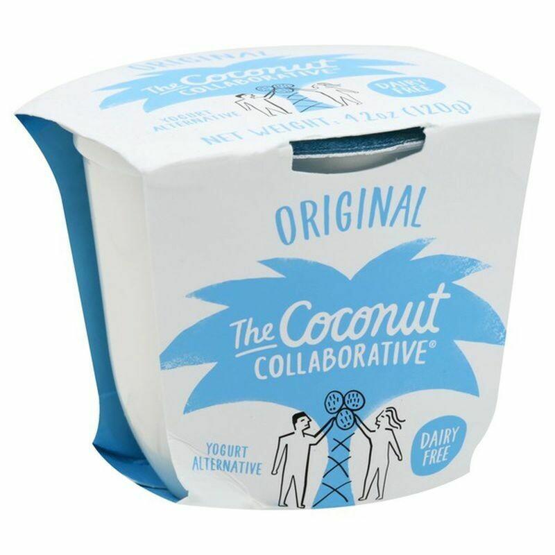 Dairy / Yogurt / The Coconut Collaborative Coconut Yogurt, Plain 4.2 oz