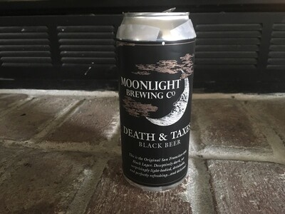 Beer / 16 oz  / Moonlight, Death and Taxes 16 oz.