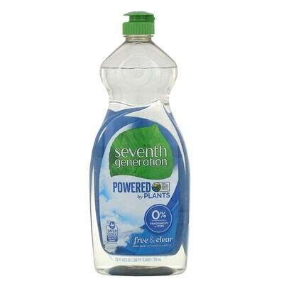 Household / Detergents / 7th Generation Dish Liquid Free & Clear