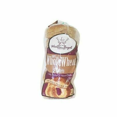 Bread / Bagels / Western Bagel Whole Wheat 6-Count