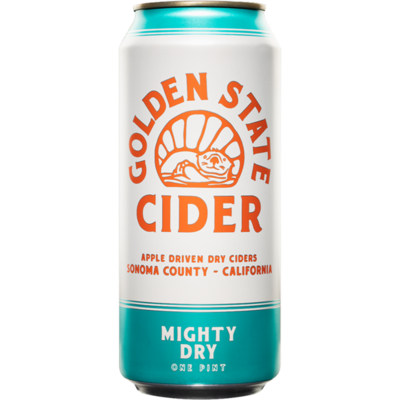 Beer / Single / Golden State Cider Mighty Dry Single