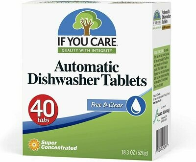 Household / Detergents / If You Care Dishwasher Tablets