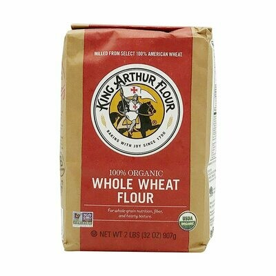 Grocery / Baking / King Arthur Organic Whole Wheat Flour, 2 lb