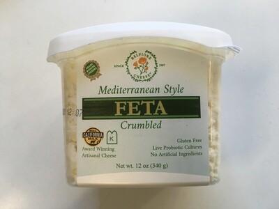 Deli / Cheese / Belfiore Crumbled Feta 12 oz