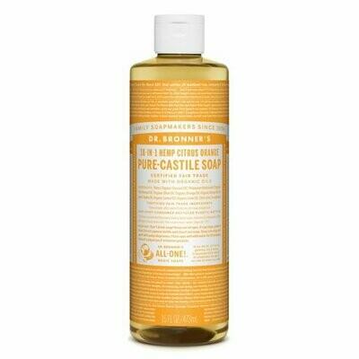 Health and Beauty / Soap / Dr. Bronner Liquid Citrus 16 oz