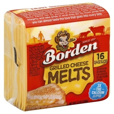 Deli / Cheese / Borden Grilled Cheese Melts, 12 oz