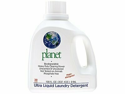 Household / Laundry / Planet Inc. Ultra Laundry Detergent Free and Clear, 100 fl. oz.