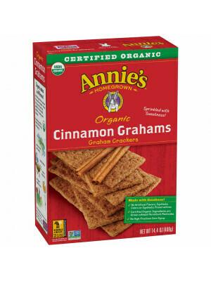 Cookies / Big Bag / Annie's Cinnamon Graham Crackers, 14.4 oz