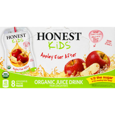 Grocery / Juice / Honest Kids Apple Juice, 8 pk
