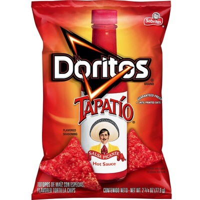 Chips / Small Bag / Doritos Tapatio 3 oz