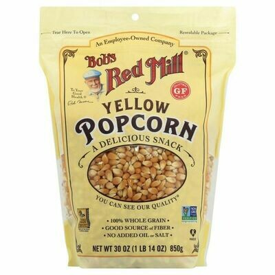 Snack / general / Bob's Red Mill Yellow Popcorn, 30 oz