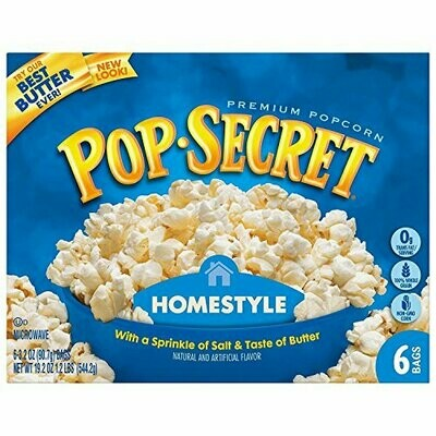 Snack / general / Pop Secret Homestyle popcorn
