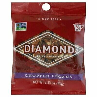 Snack / Nuts / Diamond Chopped Pecans, 2.25 oz.