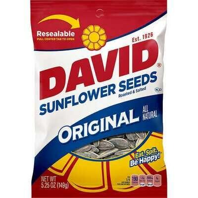 Snack / Snack / David Sunflower Seeds Original, 5.25
