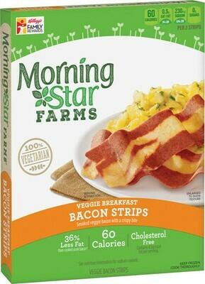 Frozen / Entree / Morningstar Farms Veggie  Bacon Strips, 5.25 oz