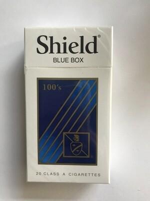 Tobacco / Cigarettes / Shield Blue 100's