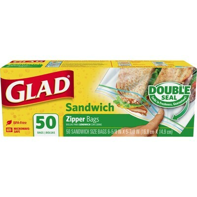 Household / Bags / Glad Lock Sandwich Bags