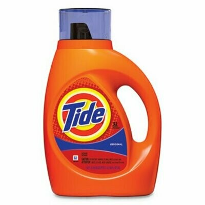 Household / Detergents / Tide Liquid 2x Original 50 oz